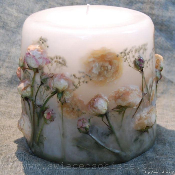 цветочные свечи ручной работы (13) (700x700, 296Kb)