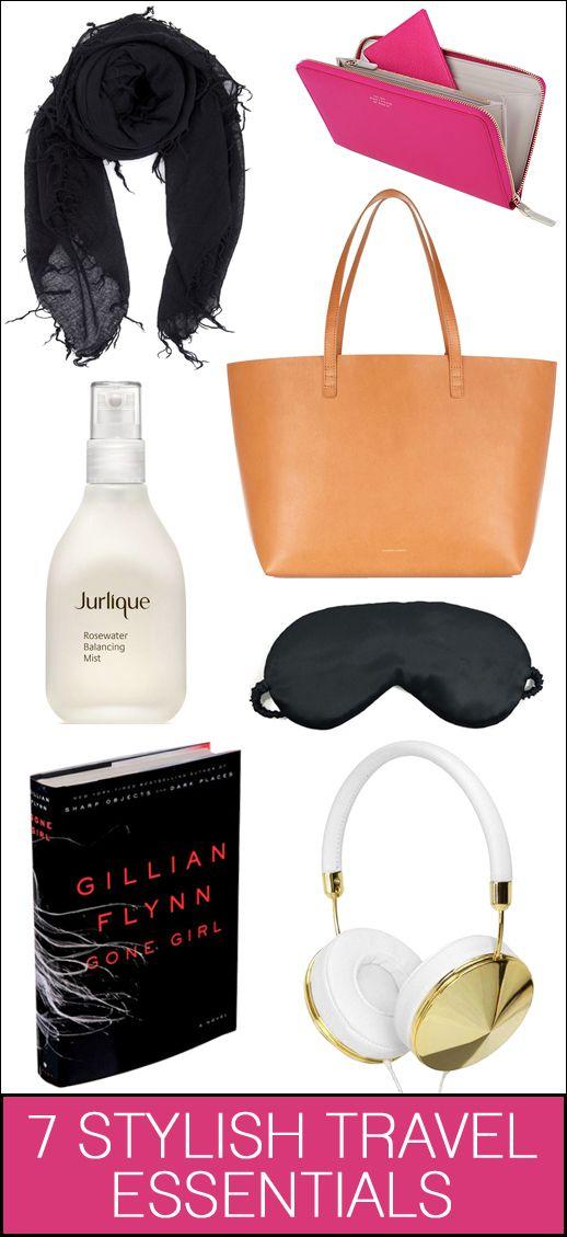 7 stylish travel essentials