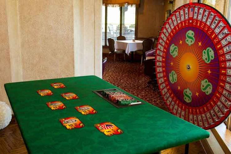 Casino Party Game The Money Wheel Casino party games