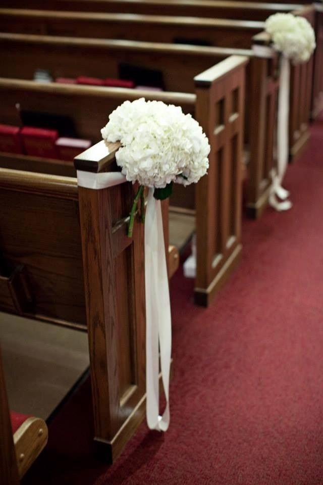 Church wedding decorations weddingd pinterest for Church wedding decorations