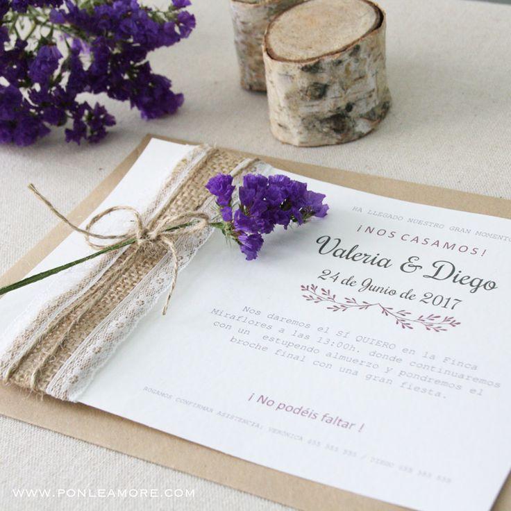 DIY Crea tus invitaciones de boda fáciles, descubre una nueva forma cómoda y económica de crear las invitaciones para tu boda.