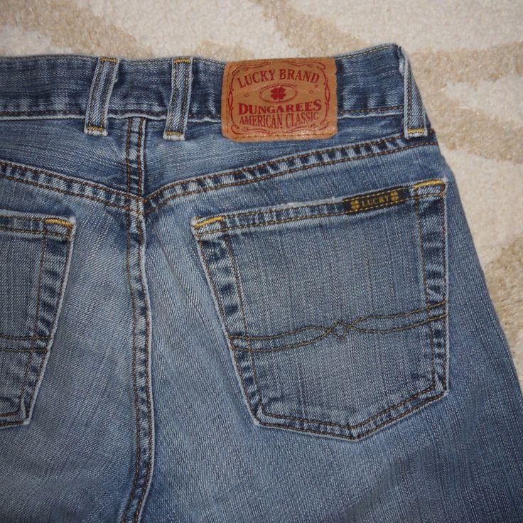 Lucky Brand Sweet Dream Jeans Size 0/25 Womens Dungarees Mid-Rise Boot Cut #LuckyBrand #BootCut