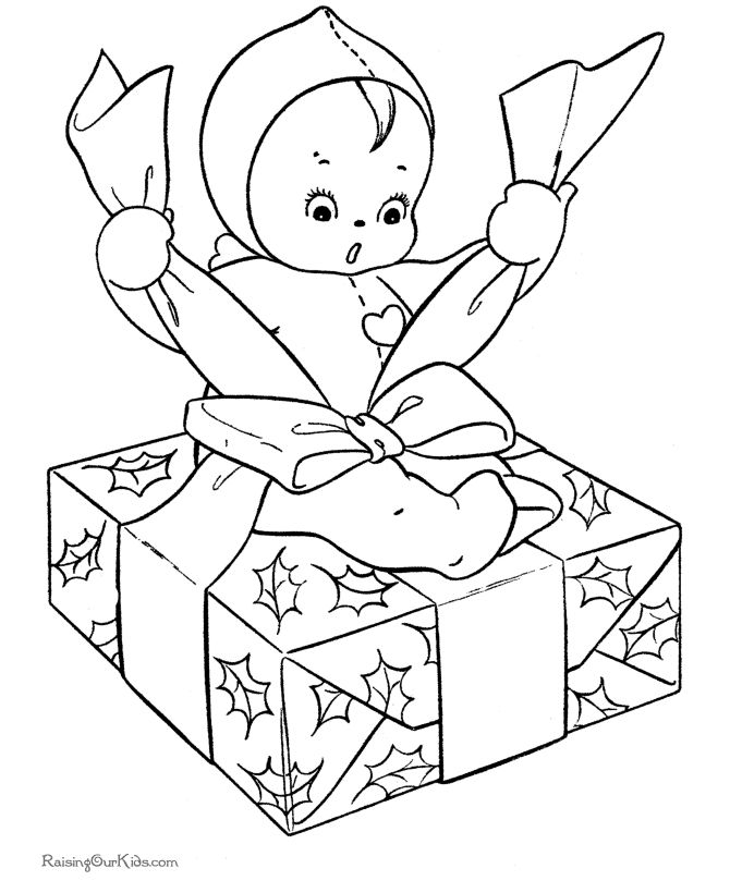 80 best christmas colouring pages images on pinterest | christmas ... - Coloring Pages Kids Christmas