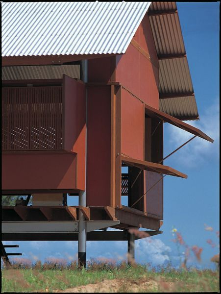 Marika Alderton House, Northern Territory, Australia, 1994   Glenn Murcutt