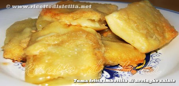 Tuma fritta imbottita con acciughe – tumazzu frittu http://www.ricettedisicilia.net/it/secondi/tuma-fritta-imbottita-con-acciughe-%e2%80%93-tumazzu-frittu/