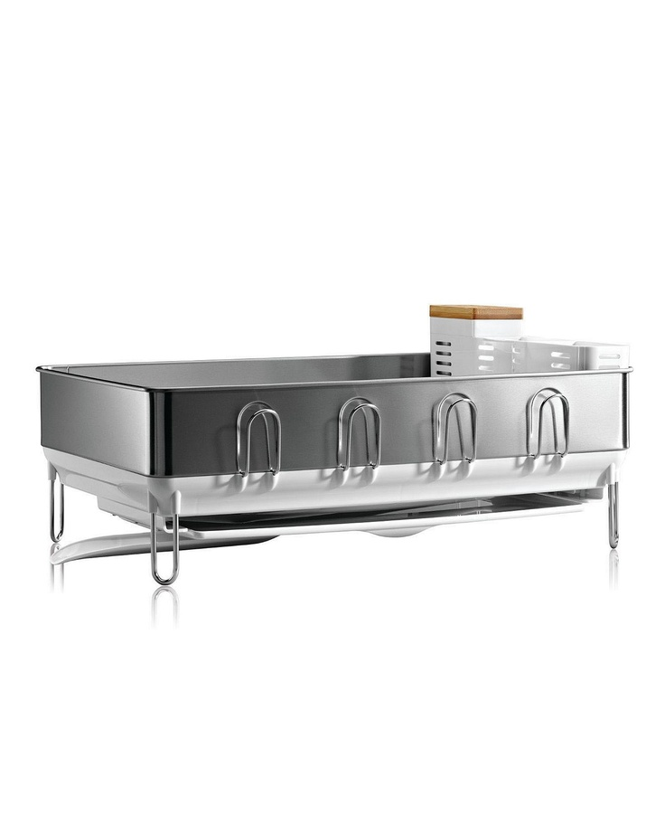 simplehuman Dish Rack, Steel Frame - Kitchen Gadgets - Kitchen - Macy's Bridal and Wedding Registry