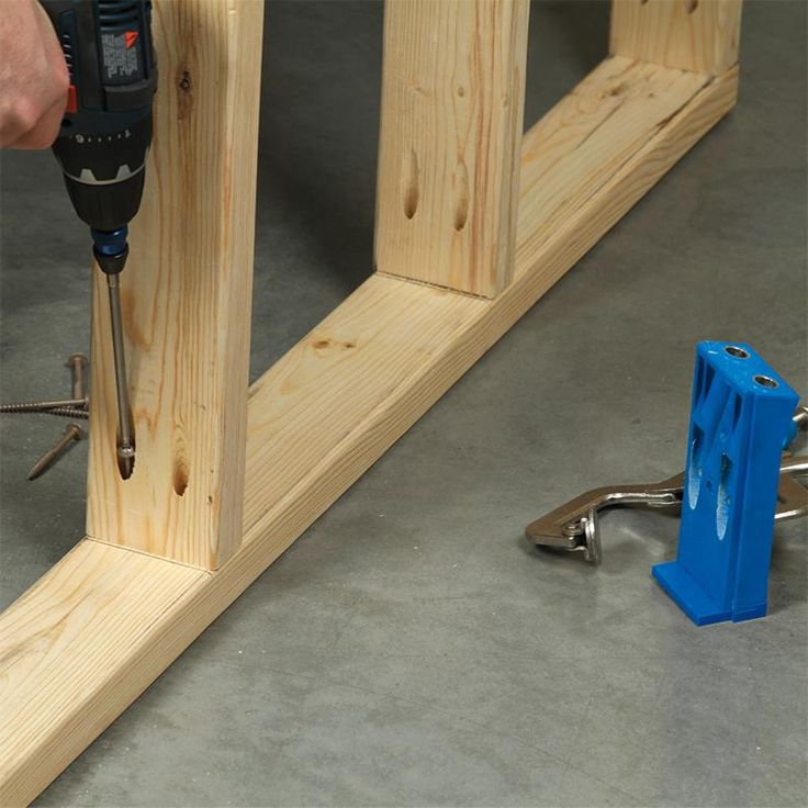If you are framing walls  building deck railings  outdoor furniture  or any  other. 25  unique Kreg jig plans ideas on Pinterest   Kreg jig  Kreg jig