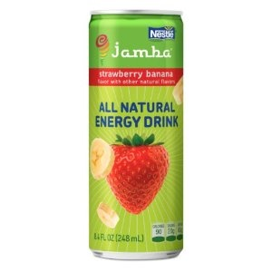 Jamba Strawberry Banana, All Natural Energy Drink, 12 - 8.4 oz cans (Grocery)