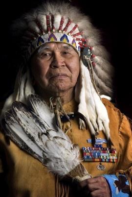 Glen Douglas, a veteran of World War II, Korean and Vietnam Wars.