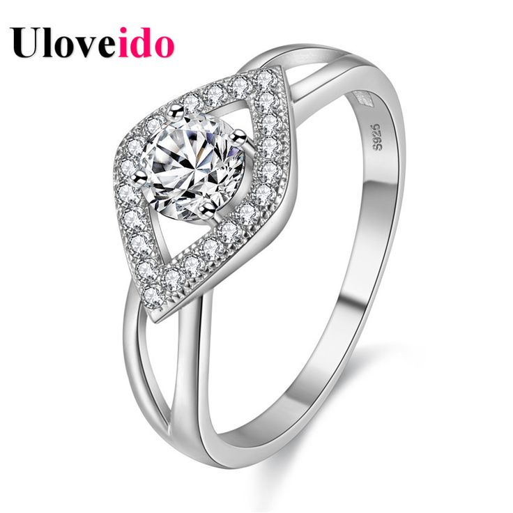 Find More Rings Information about Uloveido Silver Plated Ring Jewelry Party Fashion Wedding Rings for Women Jewellery Gift Women's Ring Ringen Anel Bague WX008,High Quality ring for a kiss,China ring minimizer Suppliers, Cheap ring horse from Uloveido Official Store on Aliexpress.com