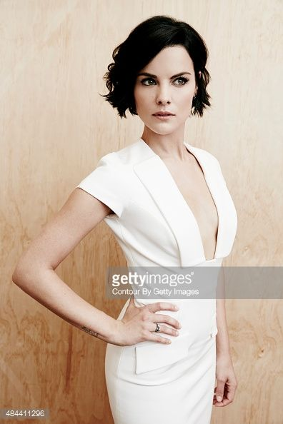 Actress Jaimie Alexander from NBC's 'Blindspot' poses in the Getty Images Portrait Studio powered by Samsung Galaxy at the 2015 Summer TCA's at The Beverly Hilton Hotel on August 12, 2015 in Beverly...