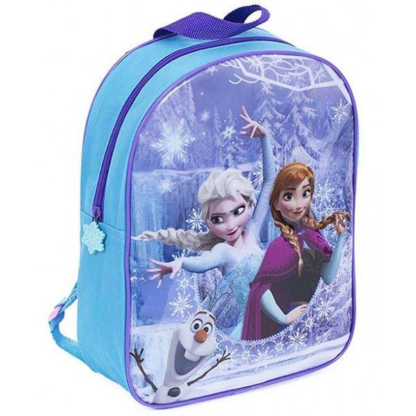 Rygsæk med søstrene Anna og Elsa fra Disney filmen Frost