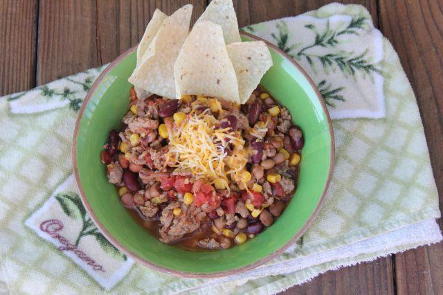 ... Turkey Bean Chili Recipe! Perfect for Fall! #Beano - Must Have Mom