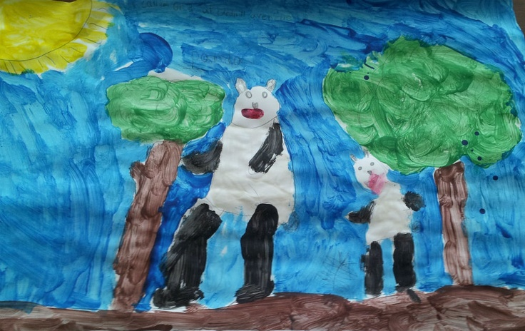 This week, more than 5000 people will climb the CN Tower to raise money for WWF. To motivate our climbers, kids from schools across Ontario have submitted artwork that will be hung on each floor. Here's a sample of the awesome artwork we received!