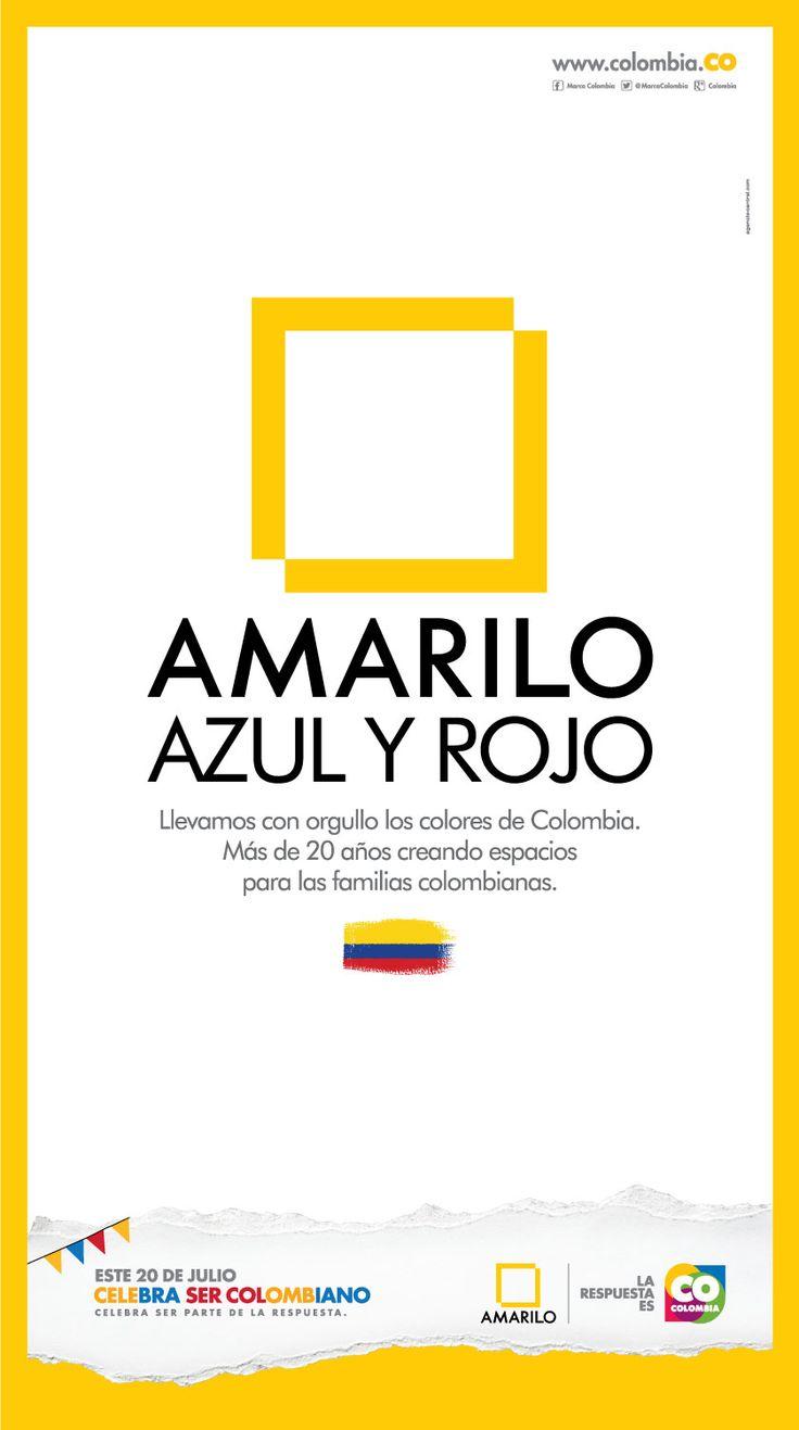 Amarilo #CelebraSerCOlombiano