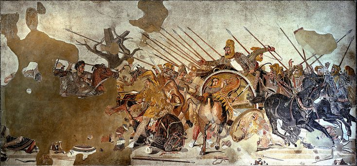 Battle of Issus - Alexander Mosaic - Wikipedia, the free encyclopedia