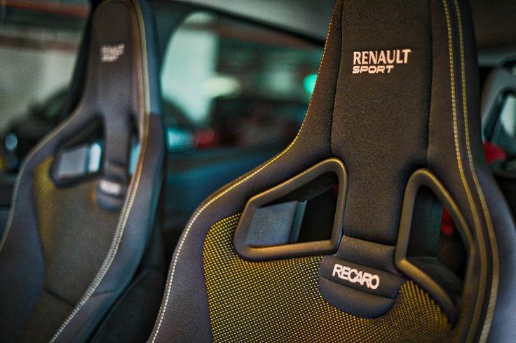 Renault Clio RS's Recaro seats are spectacular