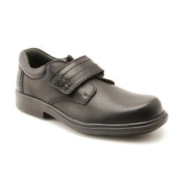 Hudson - Black Leather - boys school shoes mixing modern style with…