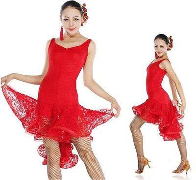 Cute and flirty for salsa, tango, cha cha