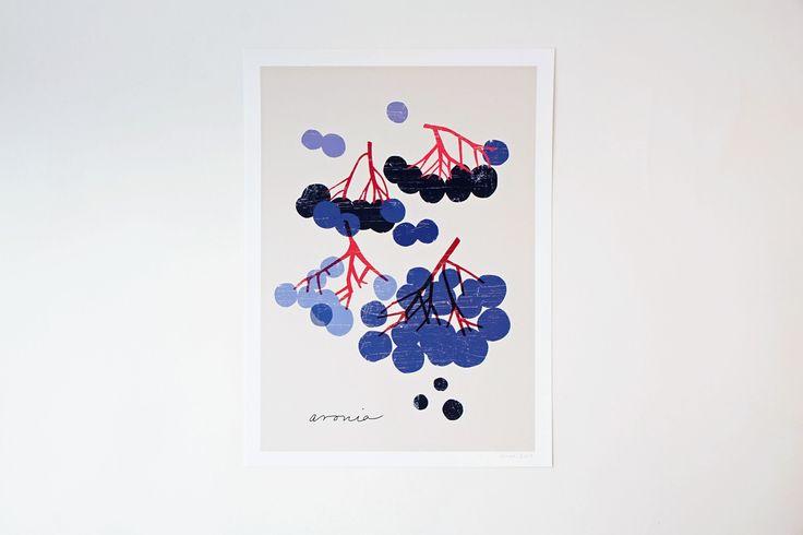 Chokeberry Art Print