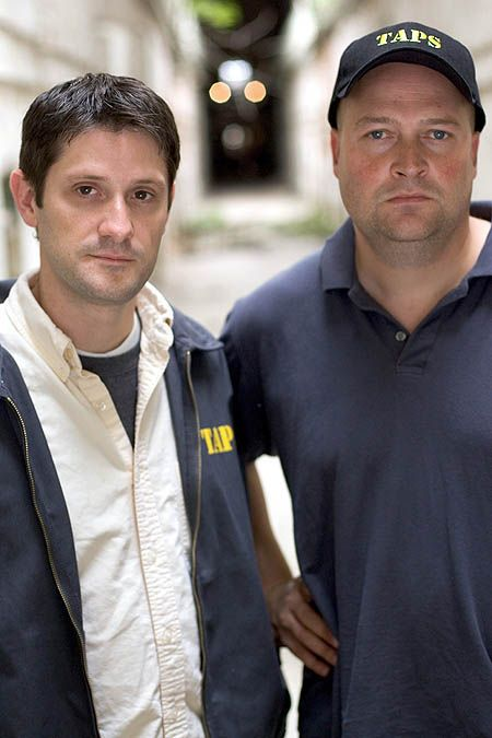 I adore Ghost Hunters. I especially love Grant (left).