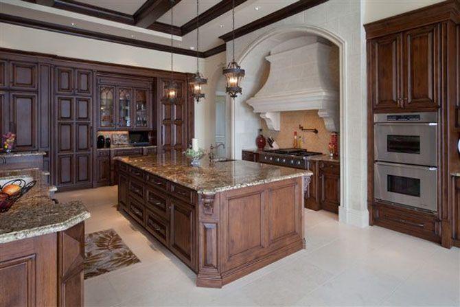 Medieval Kitchen Design Ideas ~ Luxurious modern day french castle interior design
