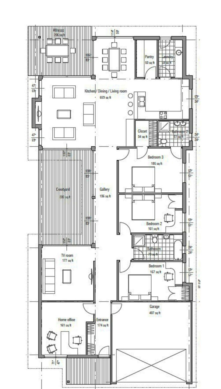 Houseplans.com Main Floor Plan Plan #537-33