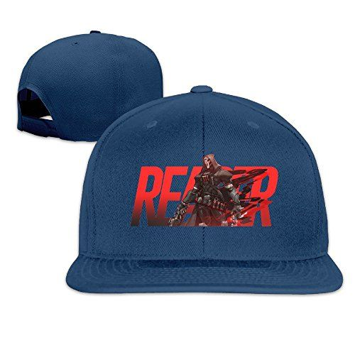 Overwatch Cool Reaper Hip-hop Baseball Cap. Suitable For Season: Spring, Summer, Autumn. Suitable For Hand Wash, Machine Wash.