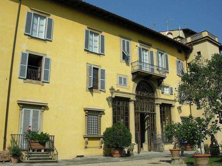 Palazzo Ximenes Panciatichi da Sangallo, the garden facade