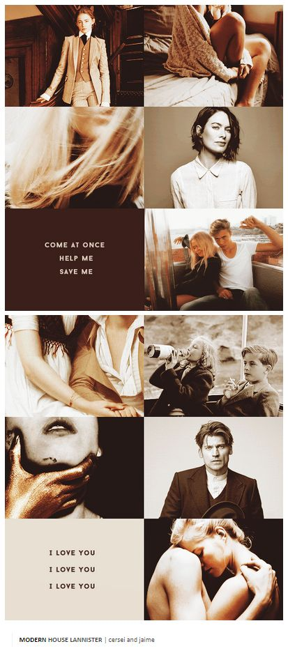 MODERN HOUSE LANNISTER | cersei and jaime