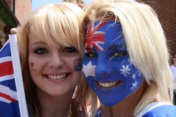 Hot Girls Australia Day Celebrations Pictures