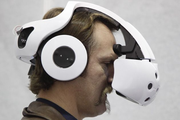 A motorised, seat-less unicycle, a video game you control with your eyes, and a mind-reading headset that serves as a game controller were among the more bizarre gadgets being shown off at this year's International Consumer Electronics Show. Get more info and products http://vrnews.buzz/category/vr_products/