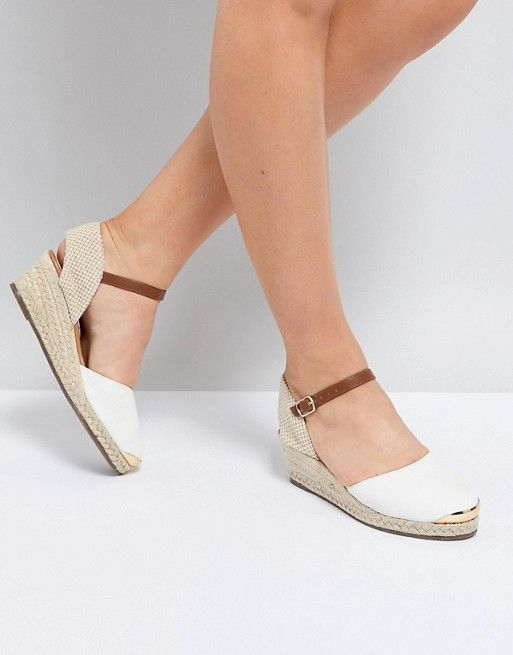 d5a4b134038 Miss KG Wedge Espadrille With Ankle Strap in 2018