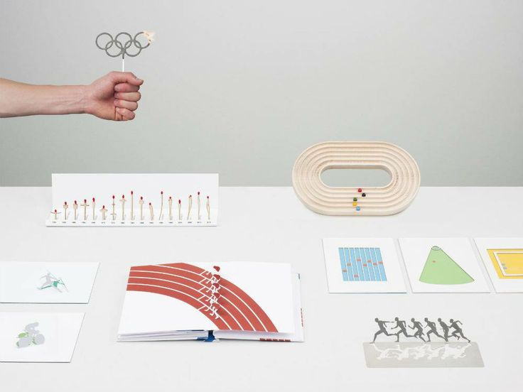 Students at ECAL designed a series of souvenirs for the Olympics.