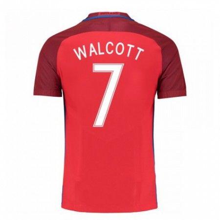 England 2016 Theo Walcott 7 Borte Drakt Kortermet.  http://www.fotballteam.com/england-2016-theo-walcott-7-borte-drakt-kortermet.  #fotballdrakter