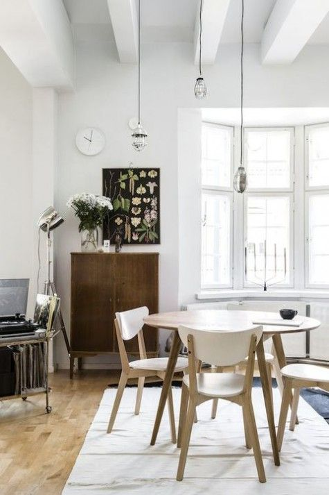 57 Best Scandinavian Dining Rooms Images On Pinterest  Deco Classy Scandinavian Dining Room Sets Design Decoration