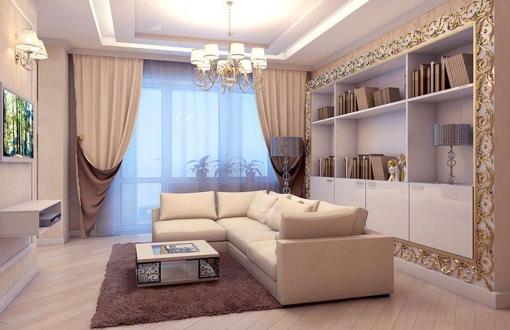 Однокомнатная квартира в ЖК Рублевское Предместье.