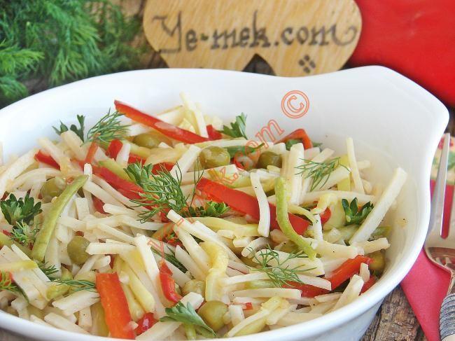 Sebzeli Makarna Resimli Tarifi - Yemek Tarifleri