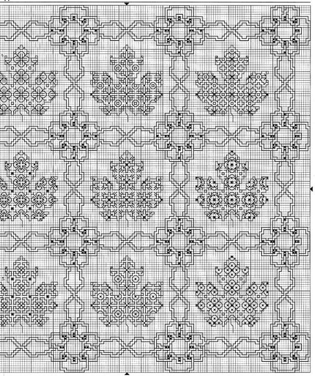 (4) Gallery.ru / Фото #6 - BLACKWORK Pillows - alfita - link is broken, but i like the maple leaf idea
