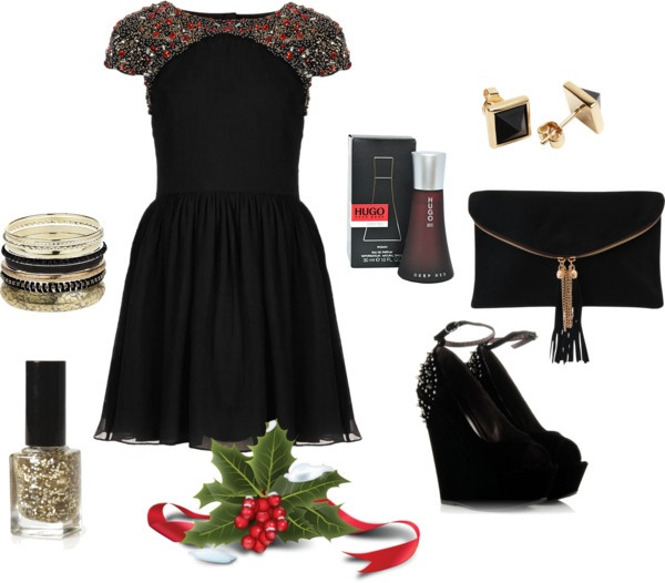 """""""holiday outfit"""" by michellebos1 on Polyvore"""