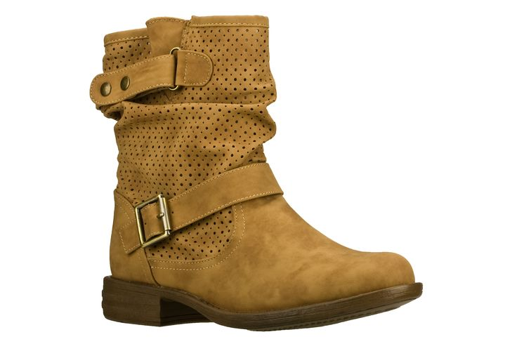 WOMEN'S MAD DASH  Love the suede and perf details on these booties.