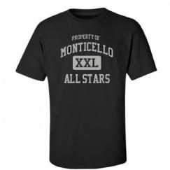 Monticello Middle School - Monticello, IL | Men's T-Shirts Start at $21.97