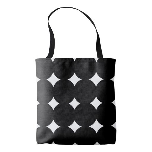 Woman tote Bag with Big big Circles