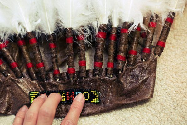 How to Make a Native American Chief Headdress | eHow