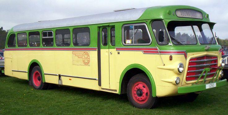 Volvo B617 Bus (1952)