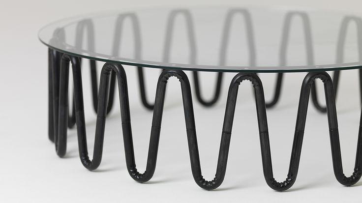 Wrinkle coffee table, 2014 clarkbardsleydesign.com essenze.co.nz