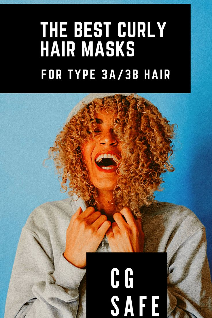Best Curly Hair Masks for 3A/3B Curls in 2020 | Curly hair ...