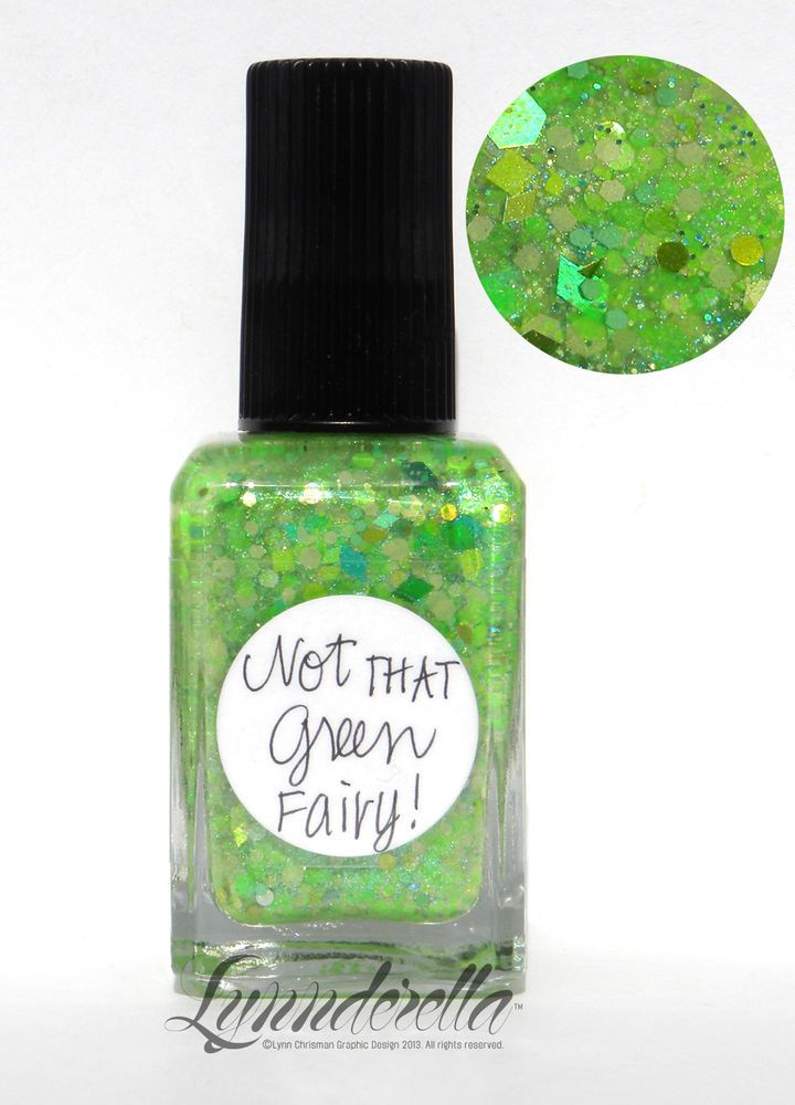 Lynnderella Limited Edition Nail Polish—Not That Green Fairy!