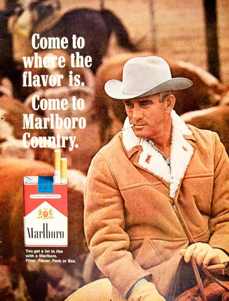 marlboro advertisement Vintage propaganda is always fun, but old cigarette ads may be the most cringeworthy the new york public library just opened not a cough in the car, an exhibition of tobacco ads that emphasized.