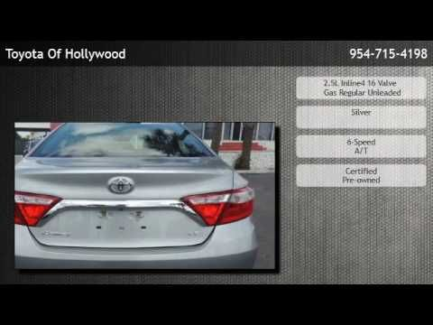 2016 Toyota Camry SE  - Fort Lauderdale